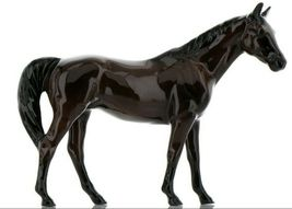 Hagen Renaker Miniature Horse Thoroughbred Race Citation Ceramic Figurine Boxed image 7