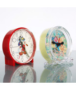 Clock Mantel Alarm DISNEY Working! MICKEY MOUSE (Rarity) Germany Winnie ... - $85.00