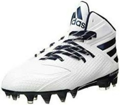 ADIDAS FREAK X CARBON MEN SIZE 16 NAVY MID FOOTBALL CLEATS NEW - $27.67