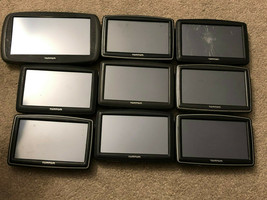 LOT OF 9 TOMTOM XXL START AUTOMOTIVE GPS RECEIVERS FOR REPAIR AS IS - $96.81