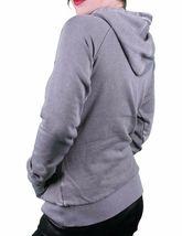 Bench UK Rodriguezz Smoked Pearl Grey Hoodie M Medium NWT image 3