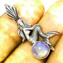 Haunted Necklace Seductive Passion Beauty Mermaid Vessel Magick 925 Cassia4 - $59.77