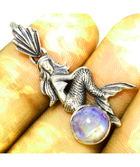 Mermaid moonstone haunted pendant 9 thumbtall