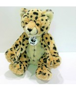 Build A Bear Spotted Leopard WWF Plush World Wildlife Fund Stuffed Anima... - $23.39