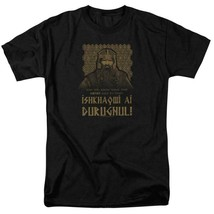 The Lord of the Ring Dwarf Warrior Gimli graphic cotton t-shirt LOR1051 image 1