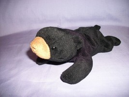 TY Beanie Babies Blackie The Bear With Tush Tag Only 1993 - $2.48