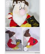 Disney snow white   7 dwarfs grumpy plush toy thumbtall