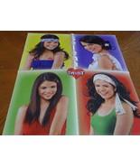 Selena Gomez Robert Pattinson teen magazine poster clipping photos Twist - $5.00