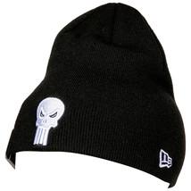 Punisher Symbol Black New Era Beanie Black - $28.98