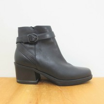US 7.5 - Aerosoles Maggie Buckle Sides Zip Closure Ankle Boots w/ Box 1122LG - $48.00