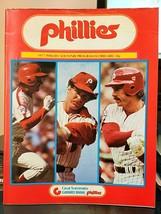 1977 Phillies Souvenir Program Philadelphia vs San Diego Padres w/Iron O... - $12.82