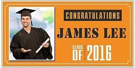 Class of 2017 Custom Photo Graduation Banner - $398,39 MXN