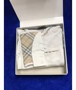 Burberry Baby's Konner Boys Three-Piece Bodysuit, Hat & Bib Gift Set. 18... - $139.99
