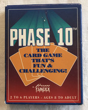 Vintage 1992 Fundex Phase 10 Card Game Complete With Instructions - $13.08