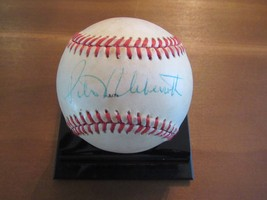 PETER UEBERROTH 6TH MLB COMM SIGNED AUTO 1988 ALL-STAR GAME USED BASEBAL... - $197.99