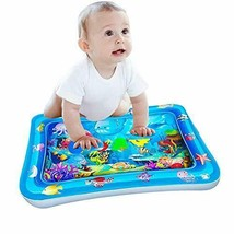 Tummy Time Mat, Inflatable Play Activity Center for 3 Months and Up