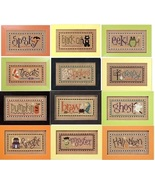 FULL BUNDLE Boo Club Halloween Double Flips 2009 (6 charts) Lizzie Kate - $45.90