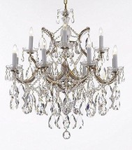 Maria Theresa Chandelier Lights Fixture Pendant Ceiling Lamp Dressed with Large, - $487.28