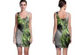 hulk comic poster Bodycon Dress - $21.99+