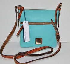 Dooney & Bourke Pebble Leather Crossbody Mint R935MI