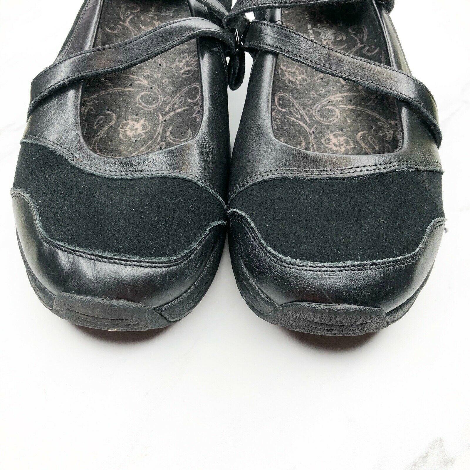 Skechers Shape Ups Mary Jane 7.5 Black Shoes Womens Sneakers Toning Rocker image 3