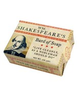 William Shakespeare's Bard of Soap Bar Live Cleanly As A Nobleman Should... - $3.99