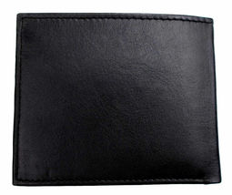 New Tommy Hilfiger Men's Leather Credit Card ID Passcase Wallet Black 31TL22X060 image 6