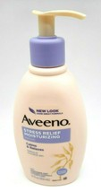 Aveeno Active Naturals Stress Relief Moisturizing Lotion Lavender Scent 12 oz - $11.99