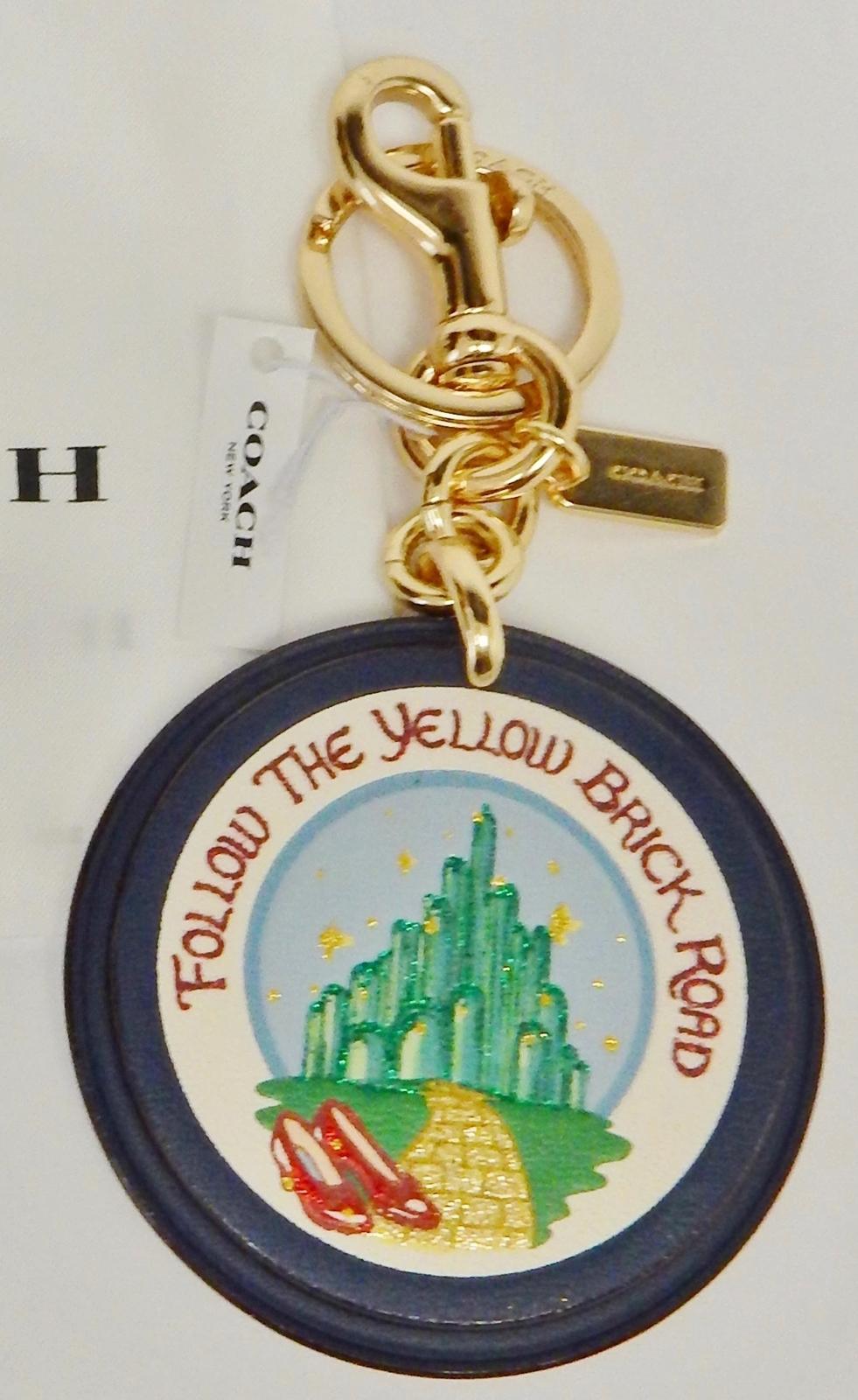 347b5fba395 Coach Wizard of Oz Handbag Charm Keychain and 50 similar items