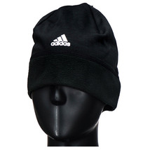 Adidas Performance Climawarm Fleece Beanie Sports Running Hat Black BR0813 - $16.99