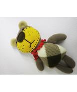 Teddy Bear Rag Doll Mel/handmade doll teddy bear/decorative dolls/soft t... - $18.00