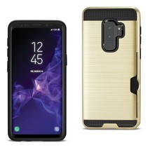 Reiko Samsung Galaxy S9 Plus Slim Armor Hybrid Case With Card Holder In ... - $7.12