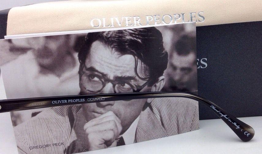 2c52fce3b4 New OLIVER PEOPLES Eyeglasses GREGORY PECK OV 5186 1484 47-23 Round Workman  Grey