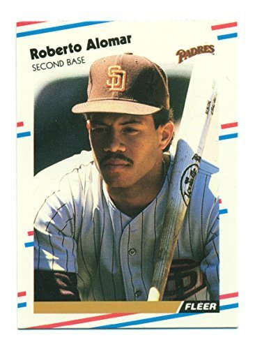 1988 Fleer Roberto Alomar XRC #U-122 Rookie RC - Baseball Card