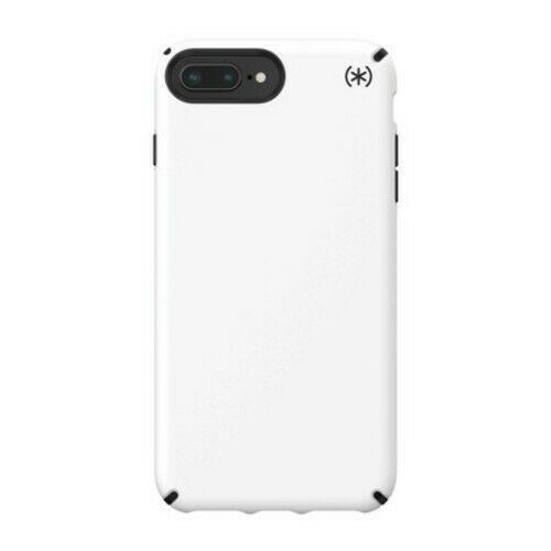"Speck Products Presidio Pro Case For iPhone 8/7/6s/6 Plus 5.5"" Qi Compatible Wht"