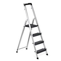 Delxo Lightweight Aluminum 4 Step Ladder Folding Step Stool Stepladders ... - $109.30