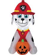 Airblown Marshall With Jack O' Lantern Gemmy Prop Halloween Decor Decora... - $40.95
