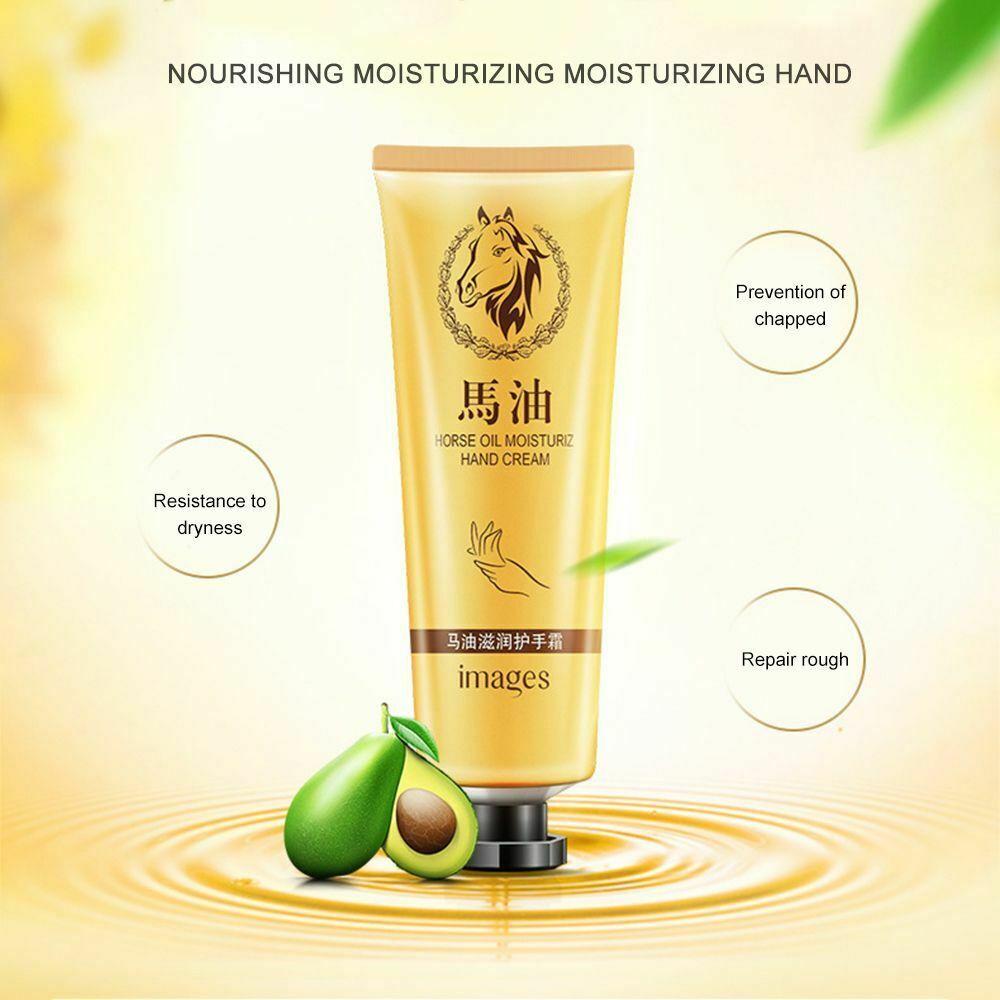 Horse Oil Repair Hand Cream Moisturizing Anti-Aging Skin Whitening Hand Cream  image 8