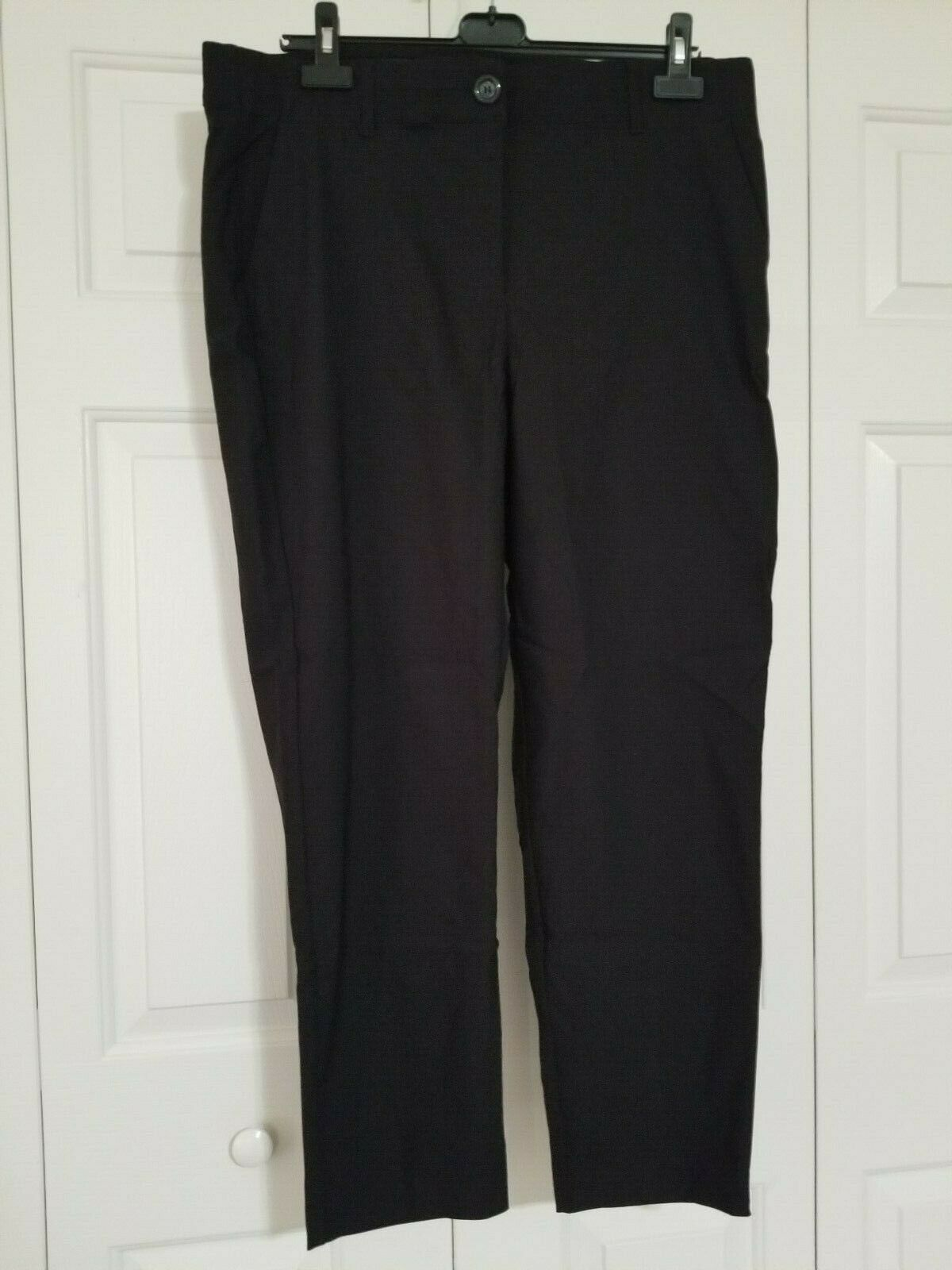 Dia & Co Prescott New York Black Pants Size 16W NWT