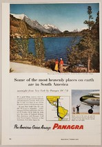 1956 Print Ad Pan American-Grace Airways PANAGRA Lado do Moreno Argentina - $11.56