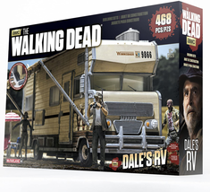 McFarlane Toys Construction Sets The Walking Dead Dale's RV Set camper 468 piecs - $32.03