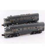Lionel Postwar 2344 NYC F3 AA Diesel Locomotive Set Powered & Dummy O O2... - $346.49