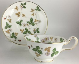Wedgwood Wild Strawberry Cup & saucer  - $20.00