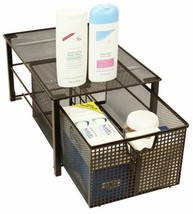Basket Organizer Sliding Drawer Spices Cans Makeup Accessory Home Office... - $44.93