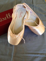 Mirella Advanced Ms101a Pointe Ballet Shoes Pink, Sz 4, 2x Nib Orig - $47.86