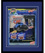 Chips Ahoy 2002 Armored Car Game Framed 11x14 Advertisement  - $32.36