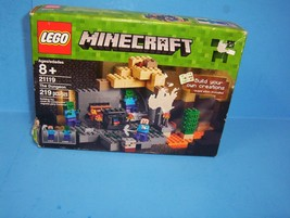 LEGO Minecraft 21119 the Dungeon Building Kit, NEW - $39.99
