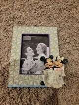 Disney Traditions Mickey Minnie Congratulations Wedding Frame Shore No Box - $37.40