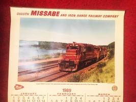 1989 Duluth Missabe & Iron Range Railways Train Wall Calendar image 4