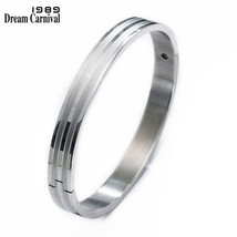DreamCarnival 1989 Big Small Size Bangle Set for Lovers Romantic Love Cu... - $20.30